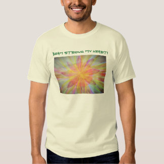 Bright, abstract, kaleidoscope watercolor t shirt