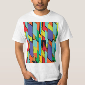 Bright Abstract Painted rectangles T-Shirt