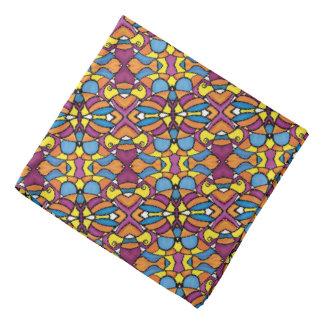 Bright Abstract Pattern Bandana