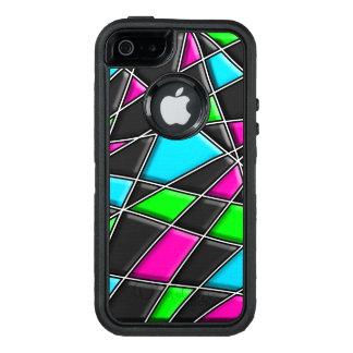 Bright Abstract Pattern OtterBox Defender iPhone Case