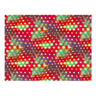 Bright Abstract Postcard