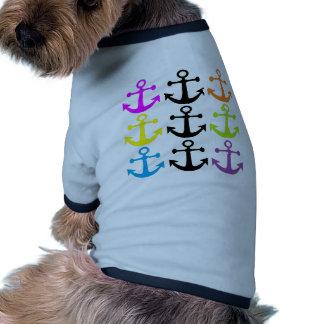 Bright Anchors Pet Clothes