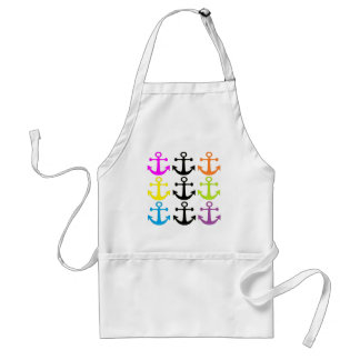 Bright Anchors Standard Apron