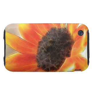 Bright and bold sunflower iPhone 3 tough covers