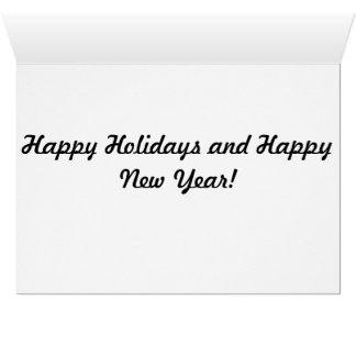 Bright and Cheery Christmas Greeting Card