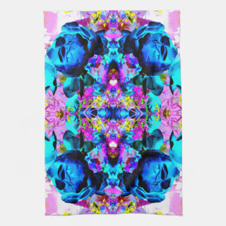 Bright and Colorful Abstract. Hand Towel