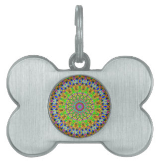 Bright And Decorative Pattern Pet Tag