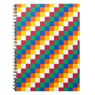 Bright and Distinctive Squares Pattern Notebooks