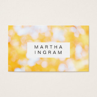 Bright and Fresh Modern Abstract Design Business Card