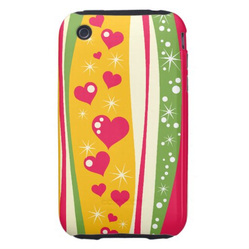 Bright and Happy iPhone 3 Tough Cases