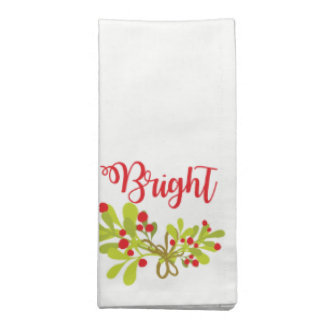 Bright And Ivy Holiday Party Cloth Napkins
