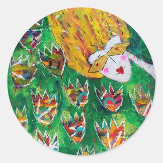 Bright and joyful stickers 'Flower Dazzle'