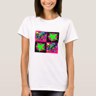 bright and random star T-Shirt