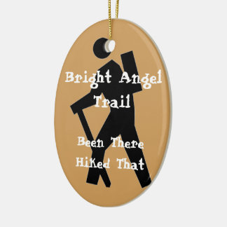 Bright Angel Trail Hiked That Christmas Ornament