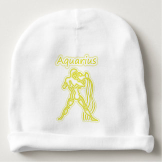 Bright Aquarius Baby Beanie