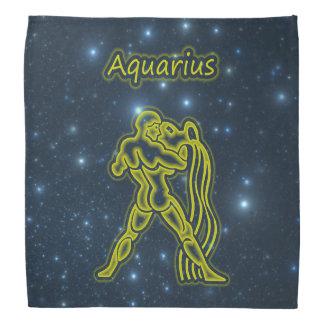 Bright Aquarius Bandana