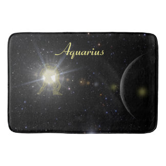 Bright Aquarius Bath Mat