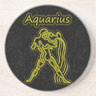 Bright Aquarius Coaster