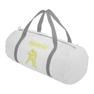 Bright Aquarius Gym Bag
