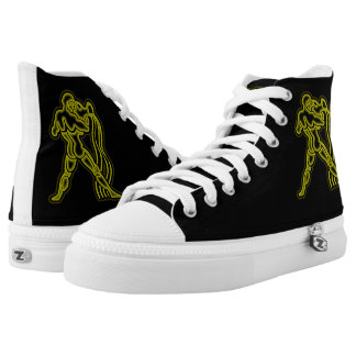 Bright Aquarius High Tops