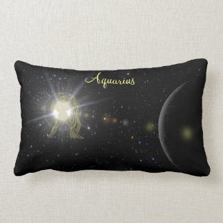Bright Aquarius Lumbar Cushion