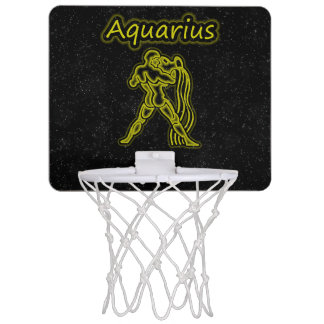 Bright Aquarius Mini Basketball Hoop