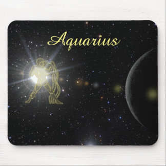 Bright Aquarius Mouse Pad