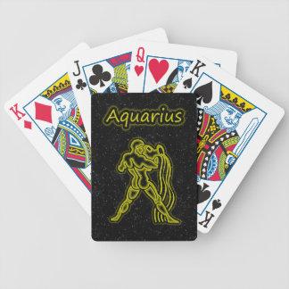 Bright Aquarius Poker Deck