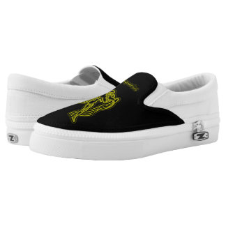 Bright Aquarius Slip On Shoes