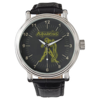 Bright Aquarius Watch
