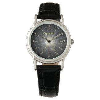 Bright Aquarius Watch