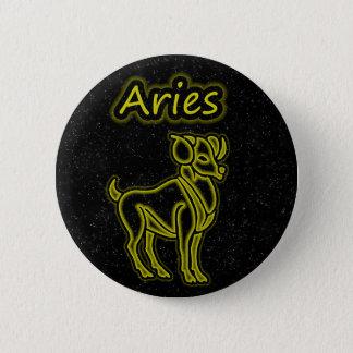 Bright Aries 6 Cm Round Badge