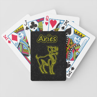 Bright Aries Bicycle Playing Cards