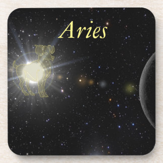 Bright Aries Coaster