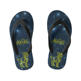 Bright Aries Kid's Flip Flops