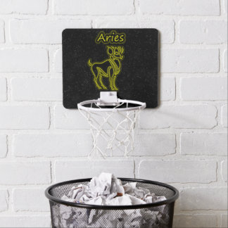 Bright Aries Mini Basketball Hoop