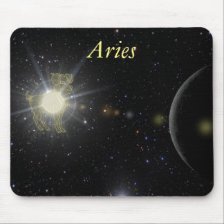 Bright Aries Mouse Pad