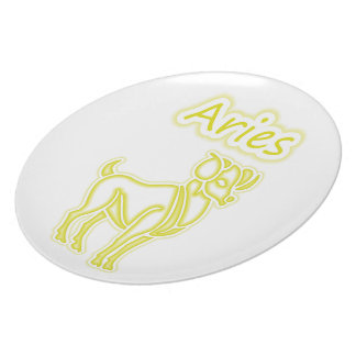 Bright Aries Party Plate