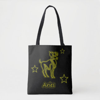 Bright Aries Tote Bag