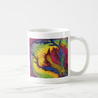 Bright Artistic Abstract Design Mugs