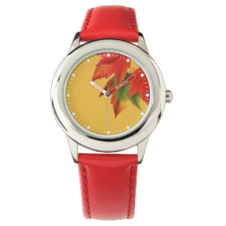 Bright Autumn Leaves Watch