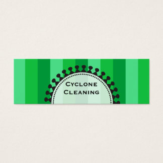 Bright Awnings Skinny Green Business Cards