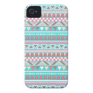 Bright aztec Andes Pattern iPhone 4 Case
