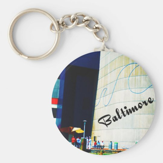 Bright Baltimore Keychain