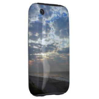 Bright Beach Morning - Oak Island, NC iPhone 3 Tough Cases