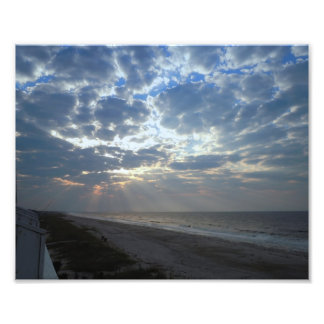 Bright Beach Morning - Oak Island, NC Photo Art