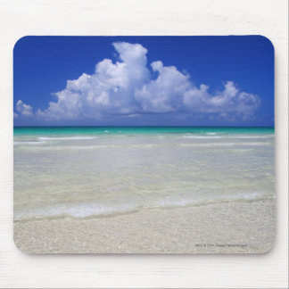 Bright beach mouse mat