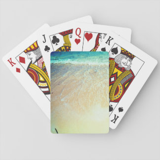 Bright Beach Playing Cards