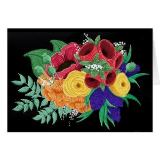 Bright & Beautiful Floral Notecard