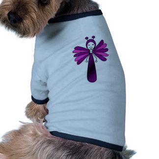 Bright 'Bella' Butterfly by Kelassa Doggie T Shirt